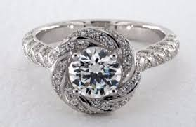 design an engagement ring floral diamond rings find your flower engagement ring