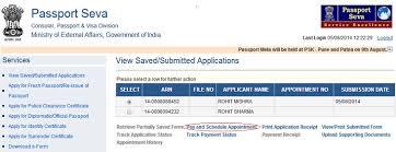 apply new passport procedure to fill passport application online
