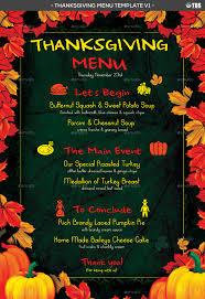 menu template for mac template thanksgiving menu template
