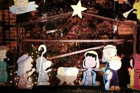 the story of the peanuts nativity outdoor nativity store