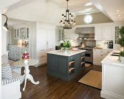 green kitchen cabinets with white island 32 stylish ways to work with gray kitchen cabinets