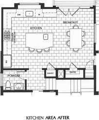 how to draw a kitchen floor plan idolza