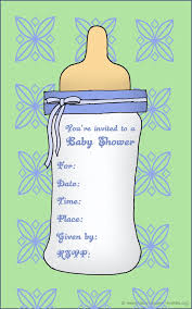 baby shower template invitations paperinvite
