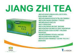 jual teh hijau pelangsing alami jiang zhi tea bingo store