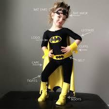 Batgirl Halloween Costumes Diy Batman Batgirl Costume Halloween Batgirl
