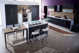 using ikea kitchen cabinets in bathroom bathroom stunning modern black purple kitchen decoration using
