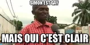 Simon Meme - simon est gay eddy malou meme on memegen