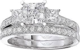 princess cut wedding ring flyerfit three princess cut pave engagement ring 5137spr