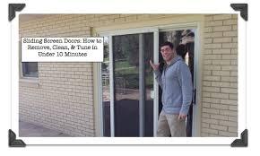 Replacing Patio Door Door How To Remove Sliding Screen Door Friends4you Org