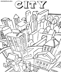 city coloring pages cecilymae