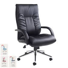 Costco Office Furniture Collections by Derby Leather Faced Executive Chair In Black Costco Uk