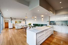 Home Plans With Interior Photos To Enjoy The Open Floor Plan