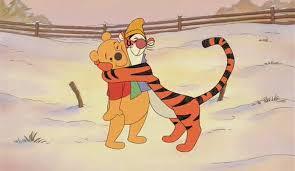 image tigger hugging pooh bear jpg disney wiki fandom
