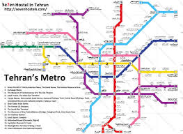 Washington Metro Map by Metro Map Tehran Metro Map