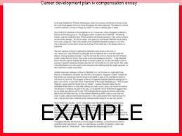 career development plans career development plan iv compensation essay custom paper writing