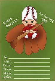 1st birthday baseball invitations alanarasbach com