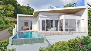 2 Bedroom Houses For Sale Koh Samui Sea View 2 Bedroom Villas For Sale Samui Island Realty