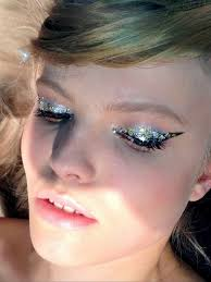 musings of a makeup artist makeup close up es magazine beauty shoot metallic