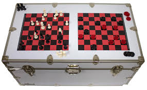 magnetic trunk top games esc checkers u0026 chess