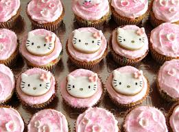 kitty cup cakes just desserts pinterest cup cakes cups and cake