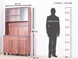 portland 6 door kitchen cabinet by urbanladder u2013 getmycouch