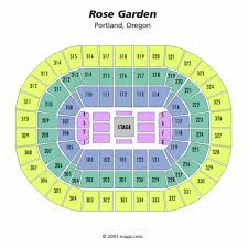 moda center center stage seating chart moda center center stage
