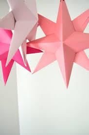 diy hanging paper kit make your own large folded origami