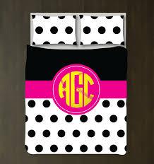 girls black and white bedding custom softball bedding girls u0026 teens circle monogram u2013 shop