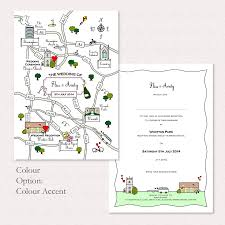 Wedding Invitation Cards Singapore Wedding Or Party Illustrated Map Invitation By Cute Maps