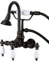 Oil Rubbed Bronze Clawfoot Tub Faucet Cyber Monday Savings Kingston Brass Cc266 Vintage Wall Mounted