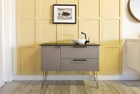 ikea kitchen cabinets in bathroom bathroom semihandmade supermatte gray slab ikea bathroom vanity