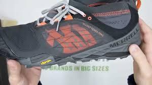 merrell all out terra light merrell all out terra trail black orange walktall unboxing