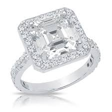 cubic zirconia halo engagement rings halo engagement rings