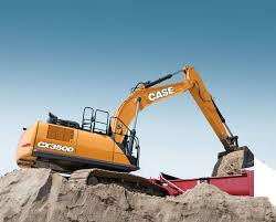 case cx350d full size excavator case construction equipment