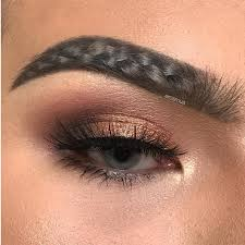 show pix of braid people are now braiding their brows and we re so tired allure