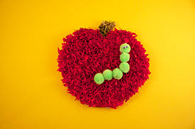 How To Make A Paper Worm - tissue paper apple craft 盞 kix cereal