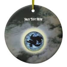 witch broomstick ornaments keepsake ornaments zazzle