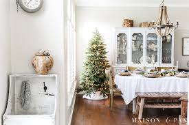 decorating the dining room simple holiday decorating christmas home tour maison de pax