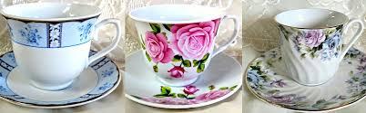 roses and teacups discount tea cups teapots tea bridal favors