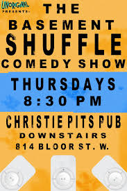 the basement shuffle comedy show