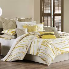 Echo Bedding Sets Echo Abstract Palm Comforter Set Cress Green Bedding