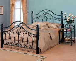 Iron King Bed Frame Black Cast Iron King Size Bed Frame One Thousand Designs