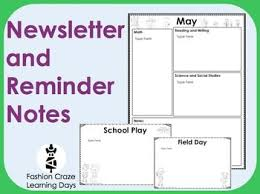 the 25 best monthly newsletter template ideas on pinterest