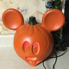light up pumpkins for halloween mickey mouse light up pumpkin halloween decoration disney jack o