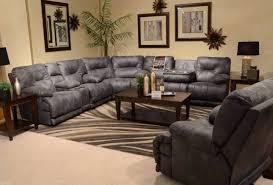 microfiber reclining sofa with console aecagra org