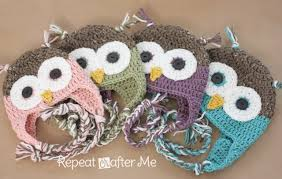 Crochet Owl Rug Crochet Owl Hat Pattern In Newborn Sizes Repeat Crafter Me