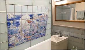 shower and bath tile installations customer photos gallery