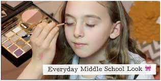 hair and makeup school everyday look tutorial for middle school hair makeup