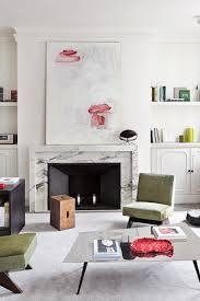 French Apartments A French Approach To Minimalism Fireplace Modern Paris