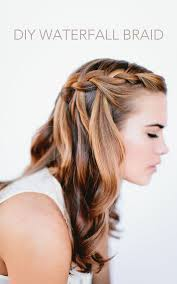 show pix of braid waterfall braid wedding hairstyles for long hair once wed